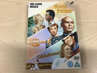 £4 • Buy South Pacific / The King And I / Oklahoma! [DVD] - DVD  NEW & SEALED