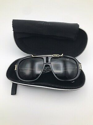 $199 • Buy CAZAL 8018 Sunglasses Color 001 Black & Gold MADE IN GERMANY