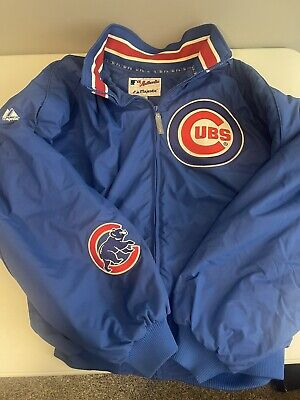 $49.99 • Buy MLB Cubs Authentic Collection Majestic Jacket 2XL