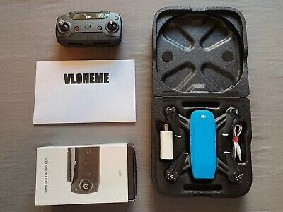 AU432.39 • Buy DJI Spark Drone Sky Blue With Battery, Charger, Case, And Remote Control