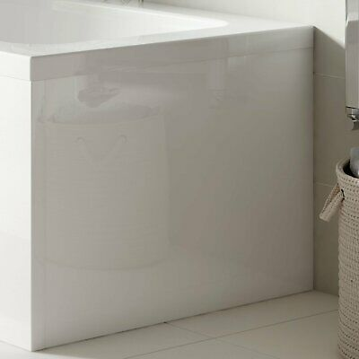 £55.95 • Buy Nuie Acrylic Square Bath End Panel 500mm H X 700mm W - White