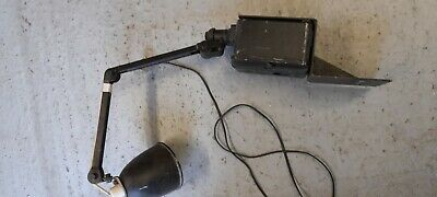 £15 • Buy Vintage Original Igranic Electric Company  Industrial Machinist Anglepoise Lamp.