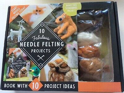 £4.20 • Buy New In Box - Craft Needle Felting Projects Kit, Animals.