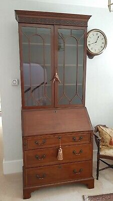 £50 • Buy Bureau  Glass Fronted Bookcase