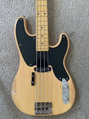 £150 • Buy Squier Classic Vibe 50s Precision Bass (P Bass Telecaster Bass) 2011 Natural