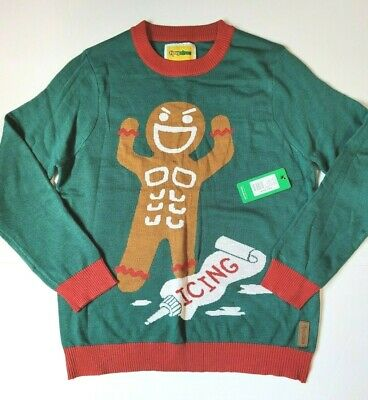 $35 • Buy Mens Tipsy Elves Ginger Roid Rage Ugly Christmas Sweater Size Large