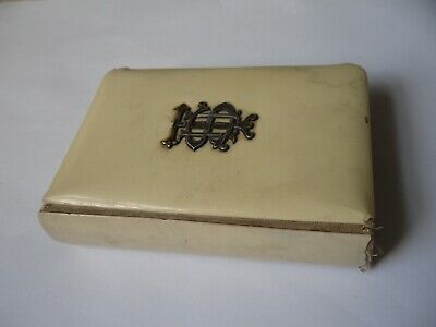 £10 • Buy Antique Common Prayer Book Celluloid & Mounted Sterling Silver LONDON 1909