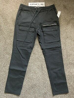 $40 • Buy PACSUN Mens Cargo Pants, Black, Size Large, Brand New!