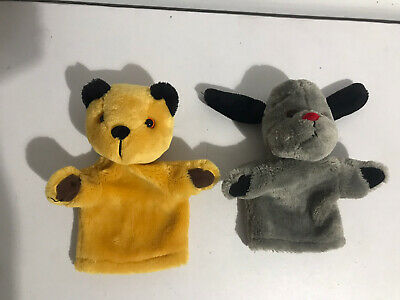 £12.99 • Buy Sooty And Sweep Hand Glove Puppets Soft Toys Set