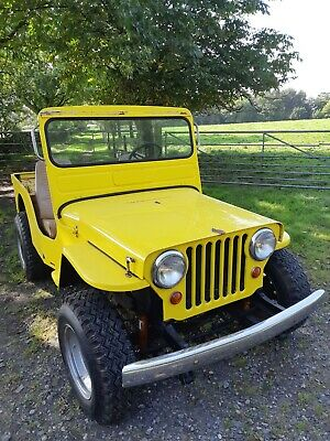 £8500 • Buy Willys Jeep Surrey Jeep Elvis Jeep Classic Car Barn Find