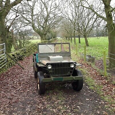 £17500 • Buy 1941 Ford GP Mk1 Military Vehicle Classic Car Barn Find Willys Jeep