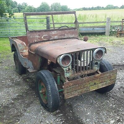 £3500 • Buy Willys Jeep CJ2a Military Vehicle Classic Car Barn Find