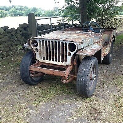 £6500 • Buy 1942 Ford Script GPW Jeep Military Vehicle Classic Car Barn Find