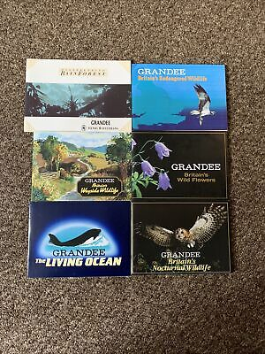£10 • Buy Disappearing Rain Forest Grandee X6  FULL SET BOOK UNUSED Cigar Cards