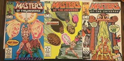 $26 • Buy Masters Of The Universe #1-3 Star/ Marvel Comics.  See Pics.