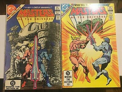 $8.50 • Buy Masters Of The Universe #2-3 DC Comics.  See Pics.
