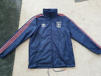 £65 • Buy Arsenal Adidas Originals Rain Jacket 90/92 Size Medium Official From The Store