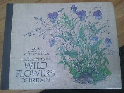 £6.99 • Buy Readers Digest Nature Lovers Library Field Guide To Wild Flowers Of Britain 1981