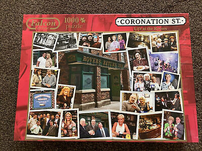 £3.99 • Buy Falcon 1000 Piece Jigsaw Complete Life At The Rovers Coronation Street
