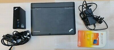 £160 • Buy Lenovo Thinkpad Helix 2in1 Tablet, 11.6  I5, 4GB, 128GB SSD With DOCK And Office