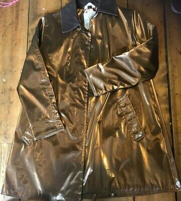 £20 • Buy Gold/Copper Colour Waterproof Coat Size S, Carryon Brand, Made In UK. Bargain!