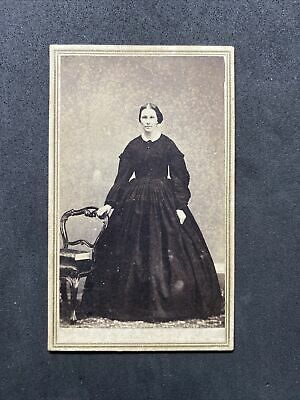 £6.95 • Buy Victorian Carte De Visite CDV: Young Lady Named Taken Shortly Before Death