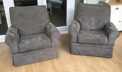 £10 • Buy A Pair Of M&S Reclining Armchairs