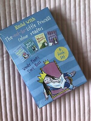 £8 • Buy NEW* 4 Book Set Read With The Not So Little Princess Tony Ross