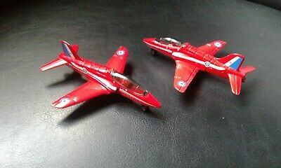 £5.99 • Buy 2 Vintage Red Arrows Matchbox Skybusters Hawk Planes1991