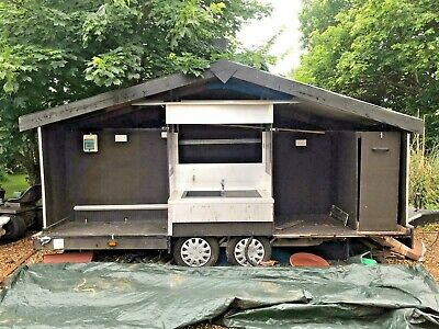 £2850 • Buy Catering Trailer BBQ Grill Business Opportunity Project