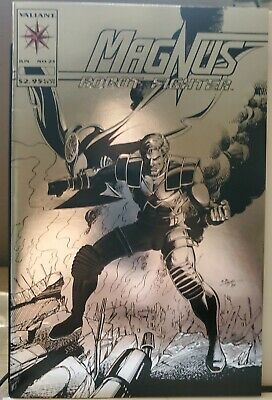 $14.99 • Buy Magnus Robot Fighter #25.  1993 Valiant In NM- Cond. Free S&H