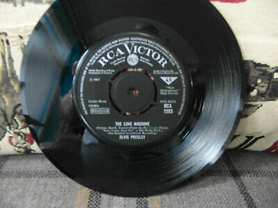 £4.01 • Buy Elvis Presley's Stunning & Superb Track Called   The Love Machine   On RCA 1967