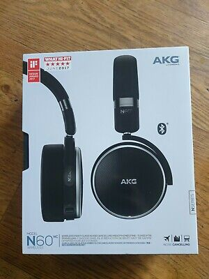 View Details Akg N60nc On-ear Wireless Bluetooth Headphones With Noise Cancelling - Black -  • 73.99£