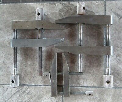 $19.99 • Buy Vintage Tools Parallel Clamp Machinist Toolmakers Clamps USA No. 4486 & FLQYD