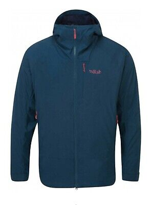 £100 • Buy Rab Vapour Rise Size 2XL Mens Summit Jacket (Ink)