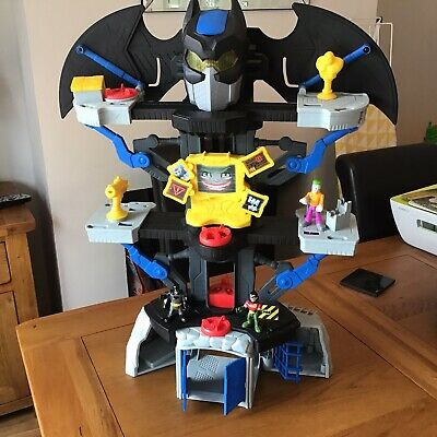 £28 • Buy Bat Cave With Light Up Eyes And Three Figures Imaginext