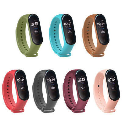 $5.81 • Buy For Xiaomi Mi Band 3 4 Replacement Silicone Sport Bracelet Wristband Strap CN