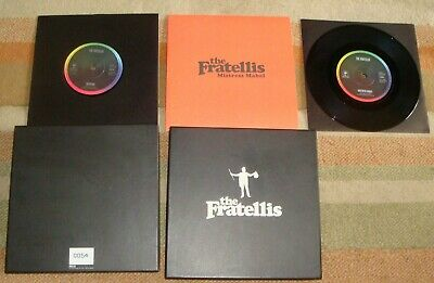 £25 • Buy The Fratellis Headcase Single Sided 7'' + Plus Mistress Mable 7'' With Box EX