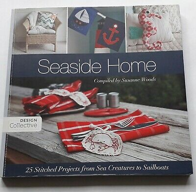 £2 • Buy Quilting/Craft  Book -  Seaside Home Compiled By Susanne Woods