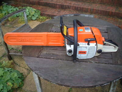 """View Details STIHL 038AV SUPER PETROL CHAINSAW WITH 20"""" BAR EXCELLENT CONDITION. • 201.00£"""