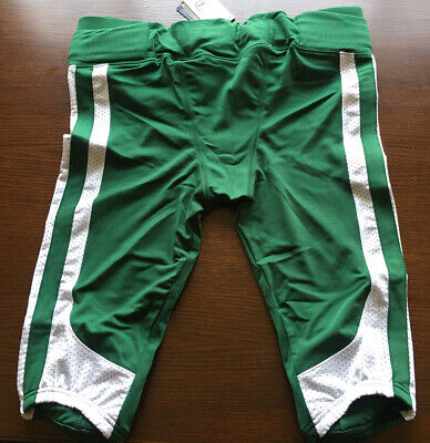 $25 • Buy New! Nike Integrated Speed Football Pants Large Green White 473570342 Adult Mens