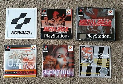 £29 • Buy Playstation1 METAL GEAR SOLID Complete + All Manuals   Silent Hill Demo Poster