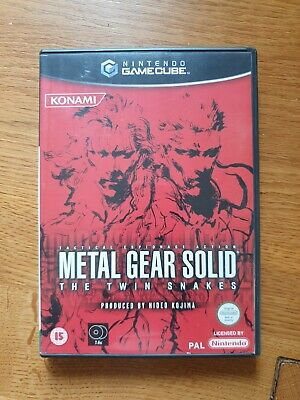 £43 • Buy Metal Gear Solid Twin Snakes GameCube PAL Version -- Includes Both Discs/Manual