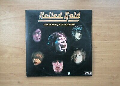 £5 • Buy Rolling Stones Vinyl Record - Rolled Gold Best Of Decca Records - ROST 1/2 1975