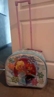 £8.50 • Buy Offical Disney Store Kids Frozen Suitcase Excellent Condition Well Looked After