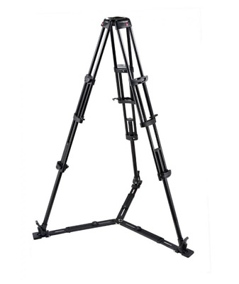 £200.67 • Buy Manfrotto Tripod With Dolly (wheels) Complete With 3way Head And Bag