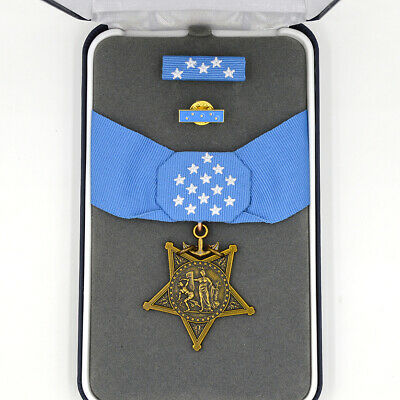 £1 • Buy Boxed US USA Badge Orden Medaille Navy Order Of Medal Of Honor MOH WW12 Top Rare