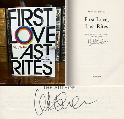 £21.58 • Buy First Love Last Rites HAND SIGNED By Ian McEwan! Atonement Author! Rare!