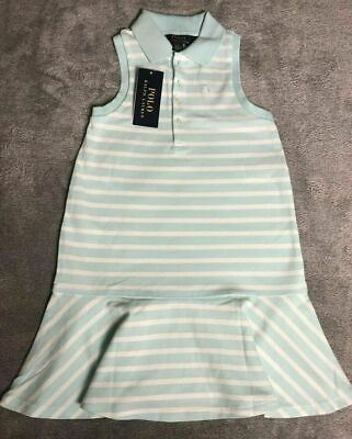£19.95 • Buy Ralph Lauren Polo Age 5 Years Striped Polo Dress Brand New With Tags