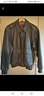 £80 • Buy Type A-2 Leather Flying Jacket WW2. USAAF.Legendary Product Co.Exton.PA.USA. RAF